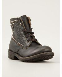 Ash - Black Embellished Boots - Lyst