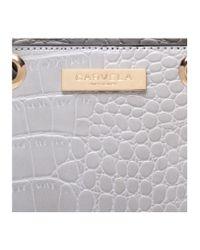 Carvela Kurt Geiger - Gray Dea Mini Shoulder Handbag - Lyst