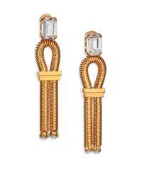 House of Lavande | Metallic Harbour Loop Drop Earrings | Lyst