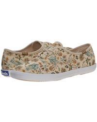Keds | Natural Champion Garden Party | Lyst