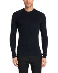 HUGO - Blue Sweater In New Wool: 'smudor' for Men - Lyst