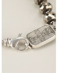 King Baby Studio - Metallic Beaded Wing Span Bracelet - Lyst