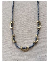 Botticelli's Niece - Blue Pdx Necklace - Lyst