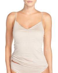 Hanro | White Seamless V-neck Camisole | Lyst