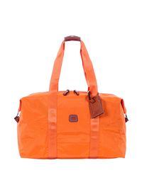 Bric's - Orange Melon 18 Folding Duffel for Men - Lyst