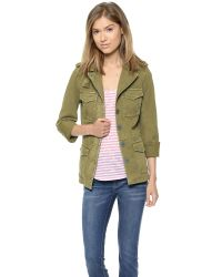 Madewell Green Outbound Jacket Olive Tree