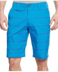 Under Armour - Blue Match Play Printed Heatgear Shorts for Men - Lyst