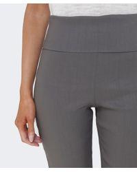 Crea Concept Gray Stretch Trousers