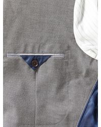 Banana Republic Gray Tailored-fit Grey Cotton Blazer for men