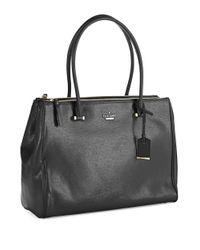 kate spade new york Black Cedar Street Patent Reena Bag