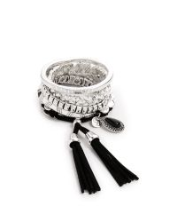 Samantha Wills Metallic Midnight Rendezvous Bracelet Set - Shiny Silver