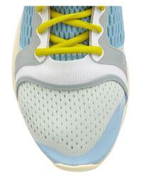 Adidas By Stella McCartney Blue Sonic Mesh Sneakers