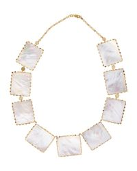 Lana Jewelry | Metallic Costa Blanca Mother-of-pearl Necklace | Lyst