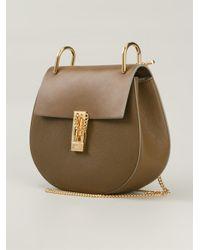 Chloé - Brown Drew Medium Leather Cross-Body Bag - Lyst
