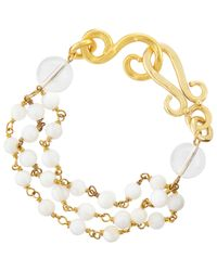 Stephanie Kantis - Metallic Multi-strand Bracelet - Lyst