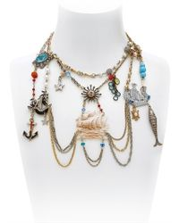 Maria Zureta - Multicolor Marine Necklace - Lyst