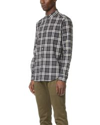 Theory | Gray Zack Winterton Shirt for Men | Lyst
