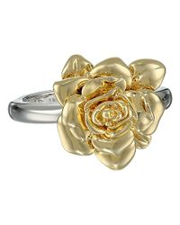 Marc By Marc Jacobs - Metallic Jerrie Rose Ring - Lyst