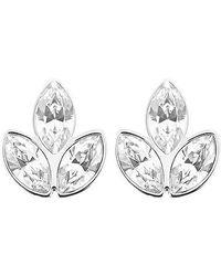 Swarovski | Metallic Azalea Pierced Earrings | Lyst