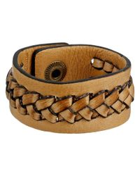 Frye - Natural Jenny Snap Cuff - Lyst