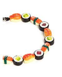 Venessa Arizaga - Multicolor 'that's How I Roll' Bracelet - Lyst