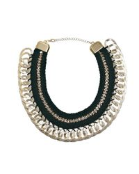 ALDO | Metallic Casabianca Thread Chain Necklace | Lyst