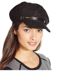 Nine West | Brown Newsboy Cap | Lyst