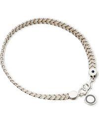 Astley Clarke | Metallic Silver Thundercloud Cosmos Stones Bracelet | Lyst