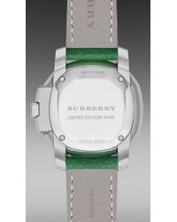 Burberry Brit - Blue The Britain S/S15 Runway Limited Edition Bby17083 34Mm - Lyst