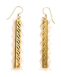 Sarah Angold Studio - Pink 'Sintra' Earrings - Lyst