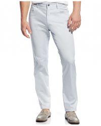 INC International Concepts | Gray 5-pocket Slim-fit Pants for Men | Lyst