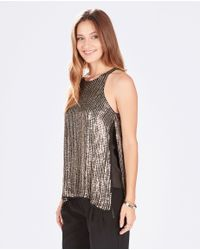 Parker | Metallic Brody Top | Lyst
