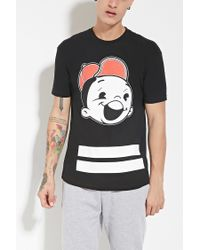 Forever 21 - Black Sky Culture Kid Cloud Tee for Men - Lyst