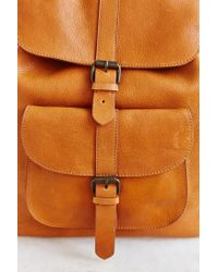 BDG | Orange Leather Pocket Backpack | Lyst