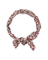Jil Sander Navy - Pink Necklace - Lyst