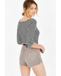 BDG - Brown Katie Short - Lyst