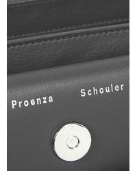 Proenza Schouler Gray Ps11 Small Grey Cross-Body Bag