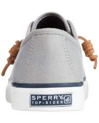 Sperry Top-Sider | Gray Seacoast Sneakers | Lyst