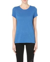 Sundry - Blue Boy Cotton-jersey T-shirt - Lyst