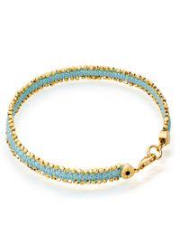 Astley Clarke Pale Blue Eyes Nugget Bracelet