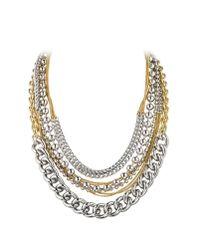 Dyrberg/Kern Metallic Deane Metal Necklace