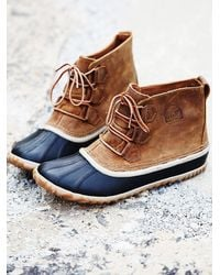 Sorel Blue Out 'N About Weather Boot