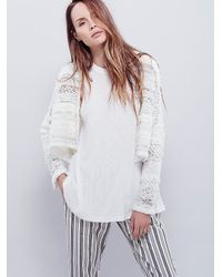 Free People | White Womens Stormy Night Shrug | Lyst