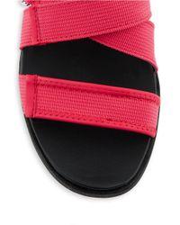 Circus by Sam Edelman | Red Rockaway Flatform Sandals | Lyst