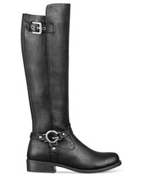 G by Guess Black Hellia Riding Boots