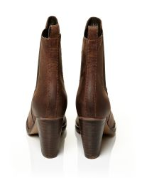 Moda In Pelle Brown Bellina Medium Casual Short Boots