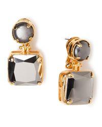 Lele Sadoughi - Metallic Solar Drop Earrings - Lyst
