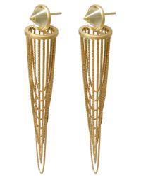 Antonio Bernardo - Metallic Gaudi Earring - Lyst