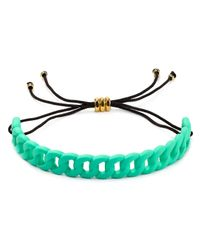 Marc By Marc Jacobs | Green Solidly Linked Friendship Bracelet | Lyst
