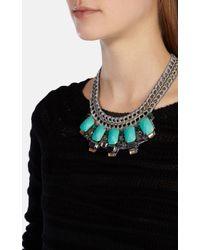 Karen Millen | Blue Statement Necklace | Lyst